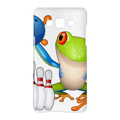 Tree Frog Bowler Samsung Galaxy A5 Hardshell Case  by crcustomgifts