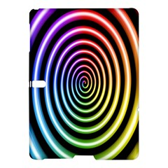 Hypnotic Circle Rainbow Samsung Galaxy Tab S (10 5 ) Hardshell Case  by Mariart