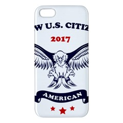 New U S  Citizen Eagle 2017  Apple Iphone 5 Premium Hardshell Case by crcustomgifts