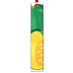Pumpkin Peppers Green Yellow Large Book Marks by Mariart