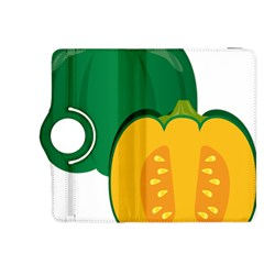 Pumpkin Peppers Green Yellow Kindle Fire Hdx 8 9  Flip 360 Case by Mariart