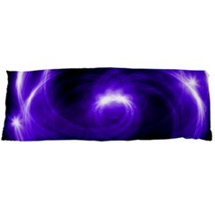 Purple Black Star Neon Light Space Galaxy Body Pillow Case Dakimakura (two Sides) by Mariart