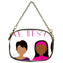 Black Girls Be The Best You Chain Purses (one Side)  by kenique