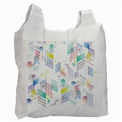 Layer Capital City Building Recycle Bag (one Side) by Mariart