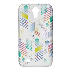 Layer Capital City Building Samsung Galaxy Mega 6 3  I9200 Hardshell Case by Mariart