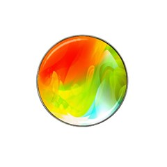 Red Yellow Green Blue Rainbow Color Mix Hat Clip Ball Marker (10 Pack) by Mariart