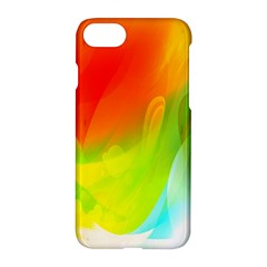 Red Yellow Green Blue Rainbow Color Mix Apple Iphone 7 Hardshell Case by Mariart