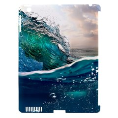 Sea Wave Waves Beach Water Blue Sky Apple Ipad 3/4 Hardshell Case (compatible With Smart Cover) by Mariart