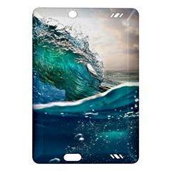 Sea Wave Waves Beach Water Blue Sky Amazon Kindle Fire Hd (2013) Hardshell Case by Mariart