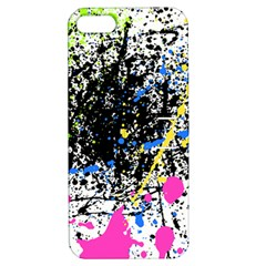 Spot Paint Pink Black Green Yellow Blue Sexy Apple Iphone 5 Hardshell Case With Stand by Mariart