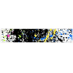 Spot Paint Pink Black Green Yellow Blue Sexy Flano Scarf (large) by Mariart