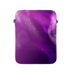Space Star Planet Galaxy Purple Apple Ipad 2/3/4 Protective Soft Cases by Mariart