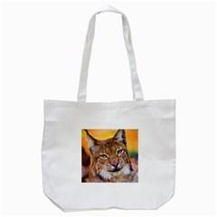 Tiger Beetle Lion Tiger Animals Tote Bag (white) by Mariart