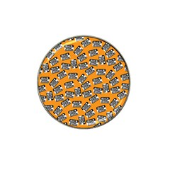 Pattern Halloween  Hat Clip Ball Marker by iCreate
