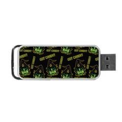 Pattern Halloween Witch Got Candy? Icreate Portable Usb Flash (two Sides) by iCreate