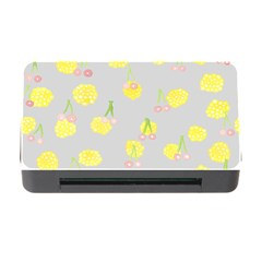 Cute Fruit Cerry Yellow Green Pink Memory Card Reader With Cf by Mariart