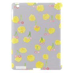 Cute Fruit Cerry Yellow Green Pink Apple Ipad 3/4 Hardshell Case (compatible With Smart Cover) by Mariart