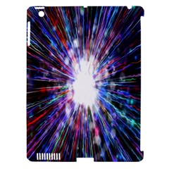 Seamless Animation Of Abstract Colorful Laser Light And Fireworks Rainbow Apple Ipad 3/4 Hardshell Case (compatible With Smart Cover) by Mariart