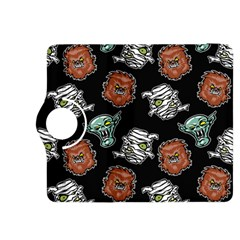 Pattern Halloween Werewolf Mummy Vampire Icreate Kindle Fire Hdx 8 9  Flip 360 Case by iCreate