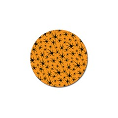 Pattern Halloween Black Spider Icreate Golf Ball Marker (10 Pack) by iCreate
