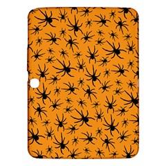 Pattern Halloween Black Spider Icreate Samsung Galaxy Tab 3 (10 1 ) P5200 Hardshell Case  by iCreate