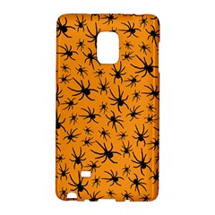 Pattern Halloween Black Spider Icreate Galaxy Note Edge by iCreate