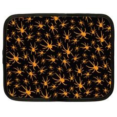 Halloween Spiders Netbook Case (xxl)