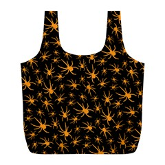 Halloween Spiders Full Print Recycle Bags (l)  by iCreate