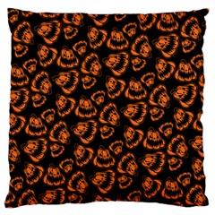 Pattern Halloween Jackolantern Standard Flano Cushion Case (one Side) by iCreate