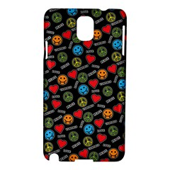 Pattern Halloween Peacelovevampires  Icreate Samsung Galaxy Note 3 N9005 Hardshell Case by iCreate
