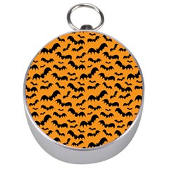 Pattern Halloween Bats  Icreate Silver Compasses by iCreate