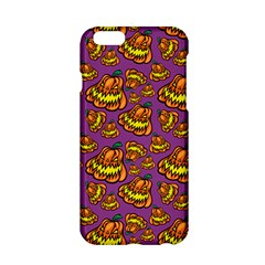 Halloween Colorful Jackolanterns  Apple Iphone 6/6s Hardshell Case by iCreate