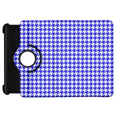 Friendly Houndstooth Pattern,blue Kindle Fire Hd 7  by MoreColorsinLife