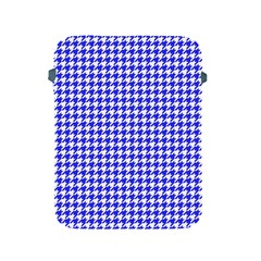 Friendly Houndstooth Pattern,blue Apple Ipad 2/3/4 Protective Soft Cases by MoreColorsinLife