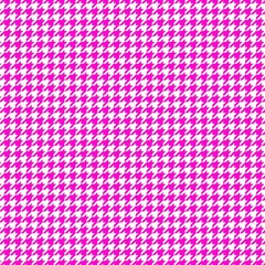 Friendly Houndstooth Pattern,pink Magic Photo Cubes by MoreColorsinLife