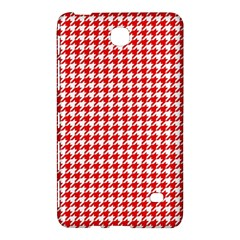 Friendly Houndstooth Pattern,red Samsung Galaxy Tab 4 (8 ) Hardshell Case  by MoreColorsinLife