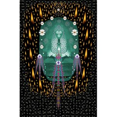 Temple Of Yoga In Light Peace And Human Namaste Style 5 5  X 8 5  Notebooks by pepitasart
