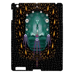 Temple Of Yoga In Light Peace And Human Namaste Style Apple Ipad 3/4 Hardshell Case by pepitasart