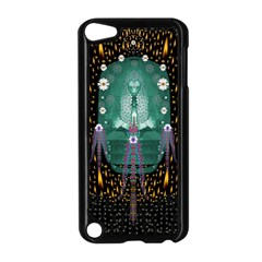 Temple Of Yoga In Light Peace And Human Namaste Style Apple Ipod Touch 5 Case (black) by pepitasart