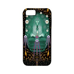 Temple Of Yoga In Light Peace And Human Namaste Style Apple Iphone 5 Classic Hardshell Case (pc+silicone) by pepitasart