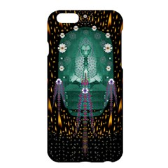 Temple Of Yoga In Light Peace And Human Namaste Style Apple Iphone 6 Plus/6s Plus Hardshell Case by pepitasart