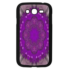 Fantasy Flowers In Harmony  In Lilac Samsung Galaxy Grand Duos I9082 Case (black) by pepitasart