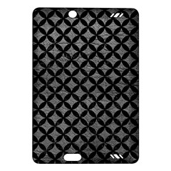 Circles3 Black Marble & Gray Leather (r) Amazon Kindle Fire Hd (2013) Hardshell Case by trendistuff