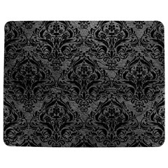 Damask1 Black Marble & Gray Leather (r) Jigsaw Puzzle Photo Stand (rectangular) by trendistuff