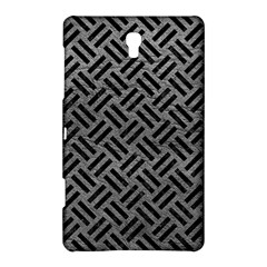 Woven2 Black Marble & Gray Leather (r) Samsung Galaxy Tab S (8 4 ) Hardshell Case  by trendistuff