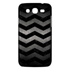 Chevron3 Black Marble & Gray Metal 1 Samsung Galaxy Mega 5 8 I9152 Hardshell Case  by trendistuff