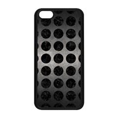 Circles1 Black Marble & Gray Metal 1 (r) Apple Iphone 5c Seamless Case (black) by trendistuff