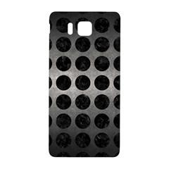 Circles1 Black Marble & Gray Metal 1 (r) Samsung Galaxy Alpha Hardshell Back Case by trendistuff