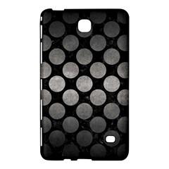 Circles2 Black Marble & Gray Metal 1 Samsung Galaxy Tab 4 (7 ) Hardshell Case  by trendistuff