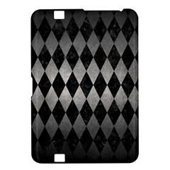 Diamond1 Black Marble & Gray Metal 1 Kindle Fire Hd 8 9  by trendistuff